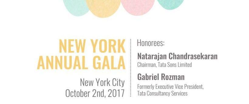 SAVE THE DATE: Cena y Remate Anual de Nueva York, 2 de octubre de 2017