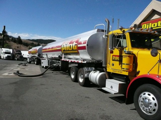 gas truck
