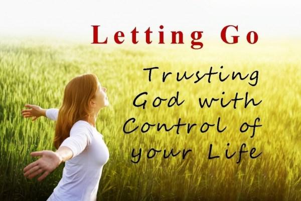 control freak vs trusting God
