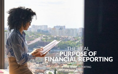 The Real Purpose of Financial Reporting