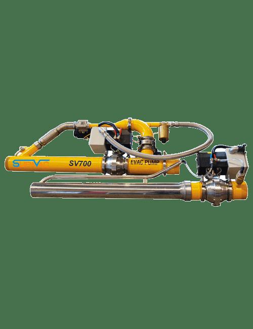 Supervac In-Line Vacuum Pump