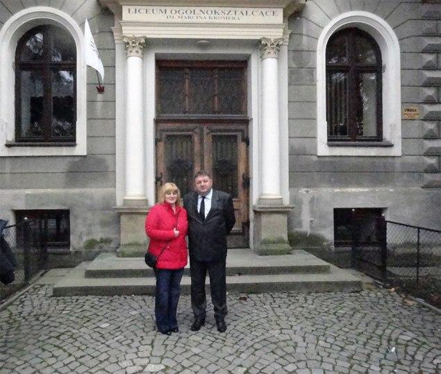 Romanian Project coordinator and Romanian School Headmaster