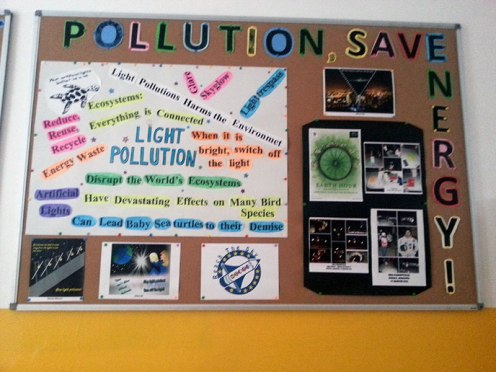 """""""Stop Pollution, Save Energy!"""" Campaign"""