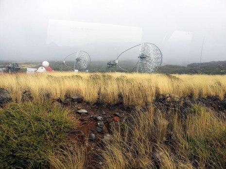 Telescope in La Palma, Canarian Islands