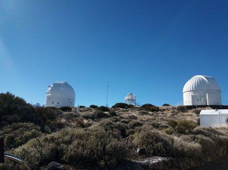 Izana Observatory, El-Teide National Park, Tenerife