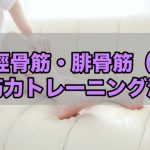 【筋トレ】足を疲れにくくしよう!後脛骨筋・腓骨筋の筋トレ方法!