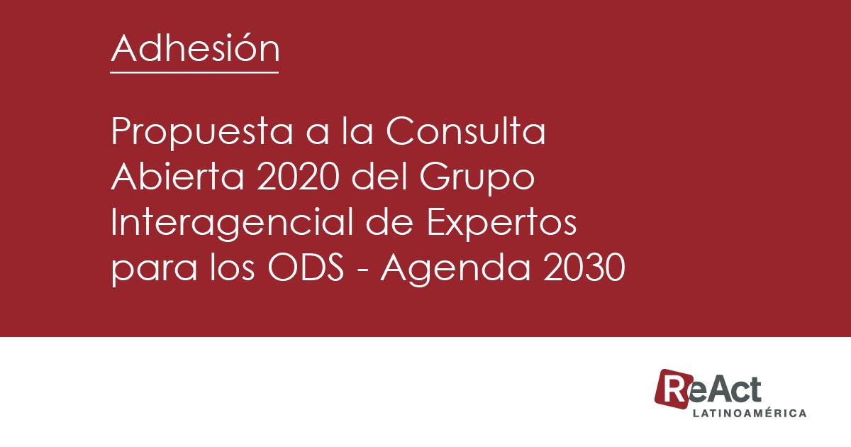Adhesión   Indicadores de RBA en Latinoamérica para los ODS
