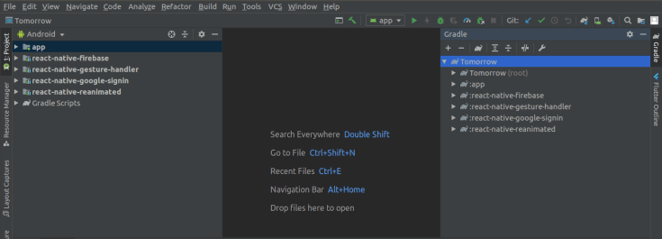 sha 1 fingerprint android studio