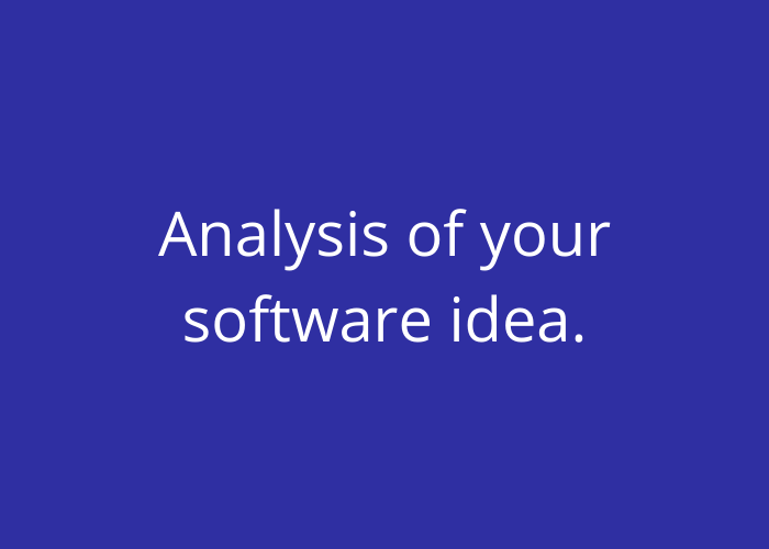 innovation voucher finland analysis of your software idea