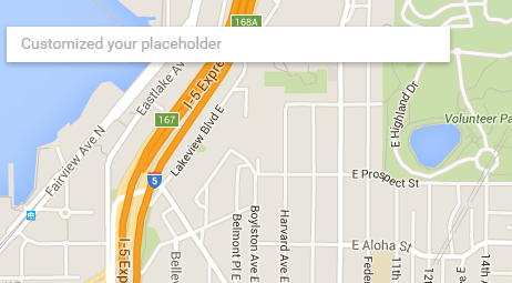 React.js Google Maps Integration Component Place Search