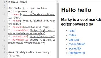 React Markdown Editor Based On Slate js | Reactscript