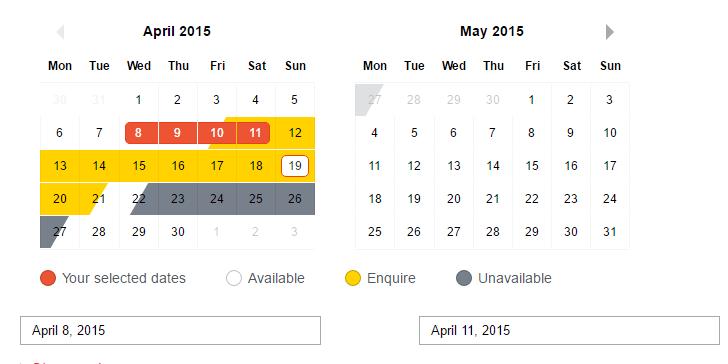 Date Time Range Picker Vue