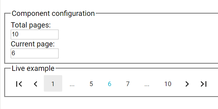 Pagination React {Landscape Quality Assessment}
