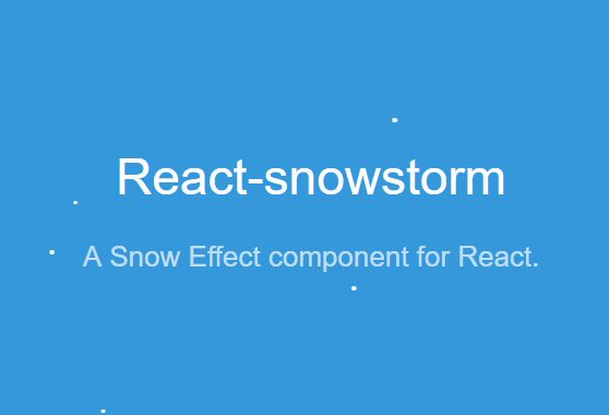 a-snow-effect-component-for-react