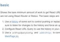 React URL Query Library