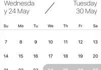 React Native Modal Datepicker