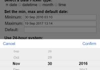 React Ultra Date Picker