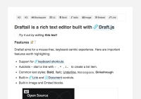 Draft.js Based Text Editor For React.js