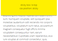 Responsive Position Sticky Top Or Bottom
