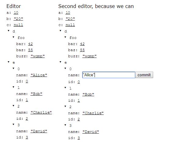 Generic JSON Editor For React | Reactscript