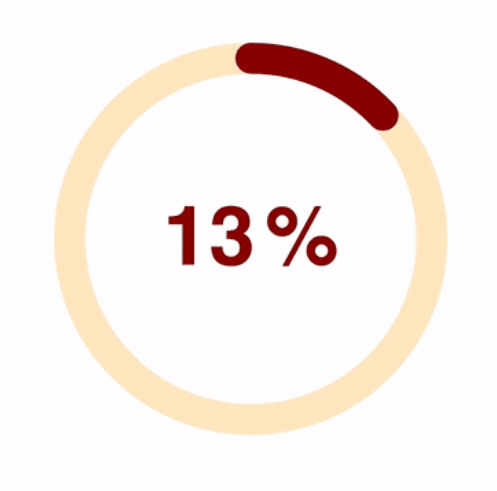 SVG Circle Progress Bar For React