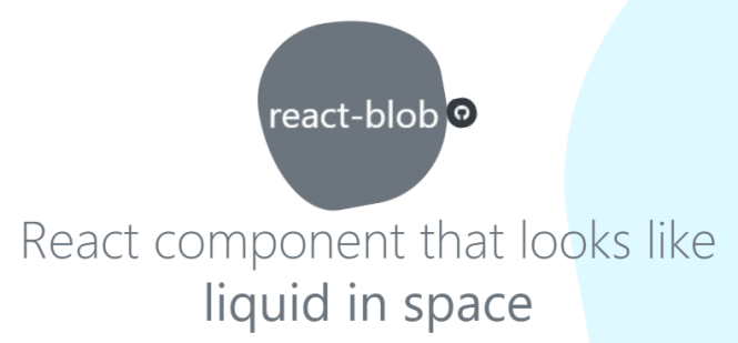 React Blob Component