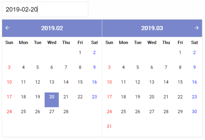 Mobile friendly DatePicker Component For React