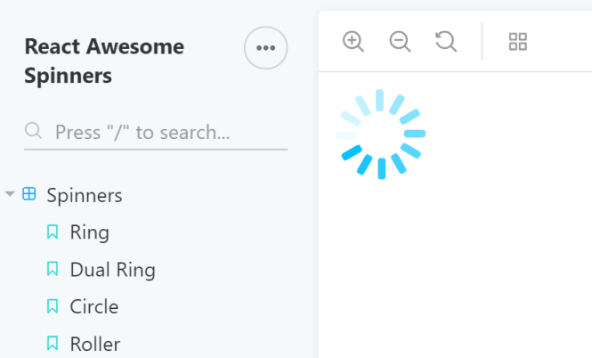 Awesome Loading Spinners For React