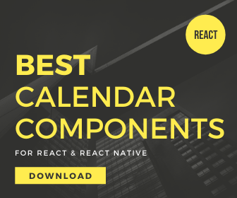 10 Best Calendar Components For React & React Native Apps