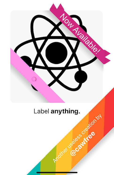 Add A Label To The Corner Of Components - react-native-label