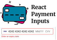 Payment Card Input For React