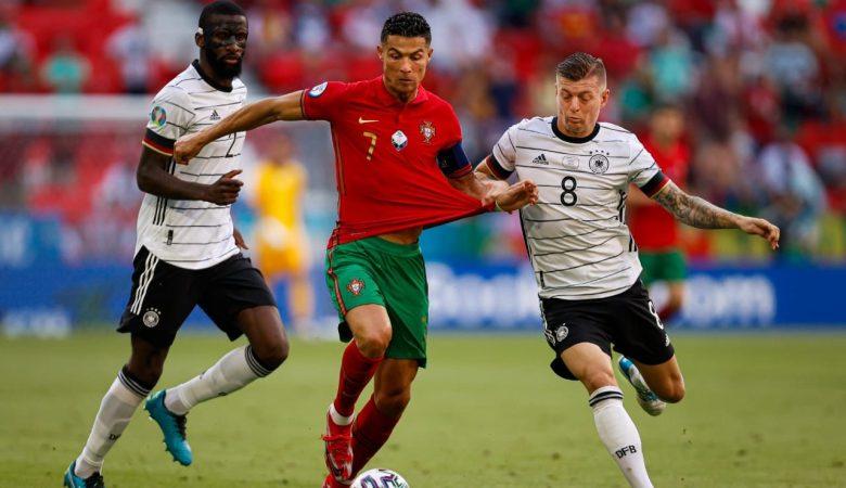 Ronaldo Top Skor Euro