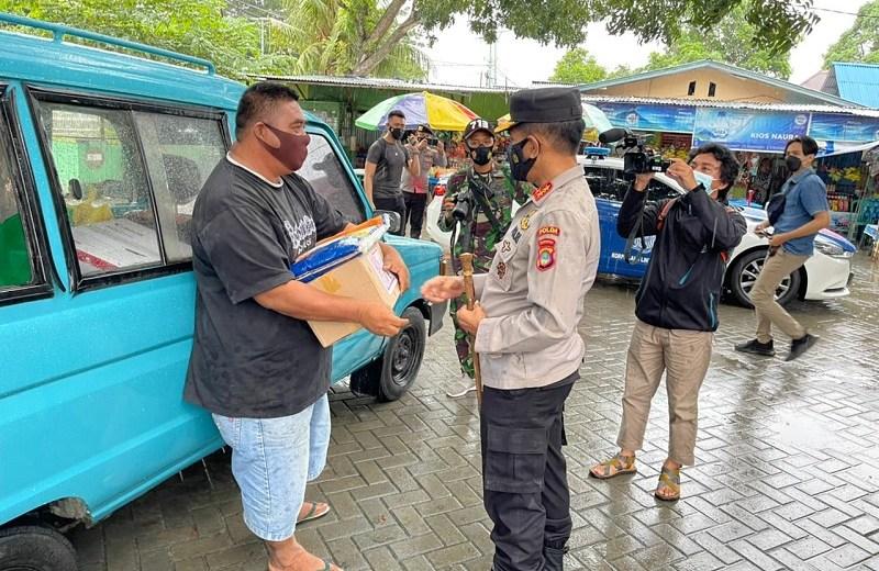 Sembako Kapolda Gorontalo