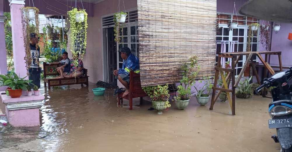 Banjir Bone Bolango, 93 Rumah Terendam Air