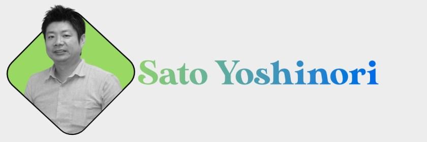 Sato Yoshinori Header