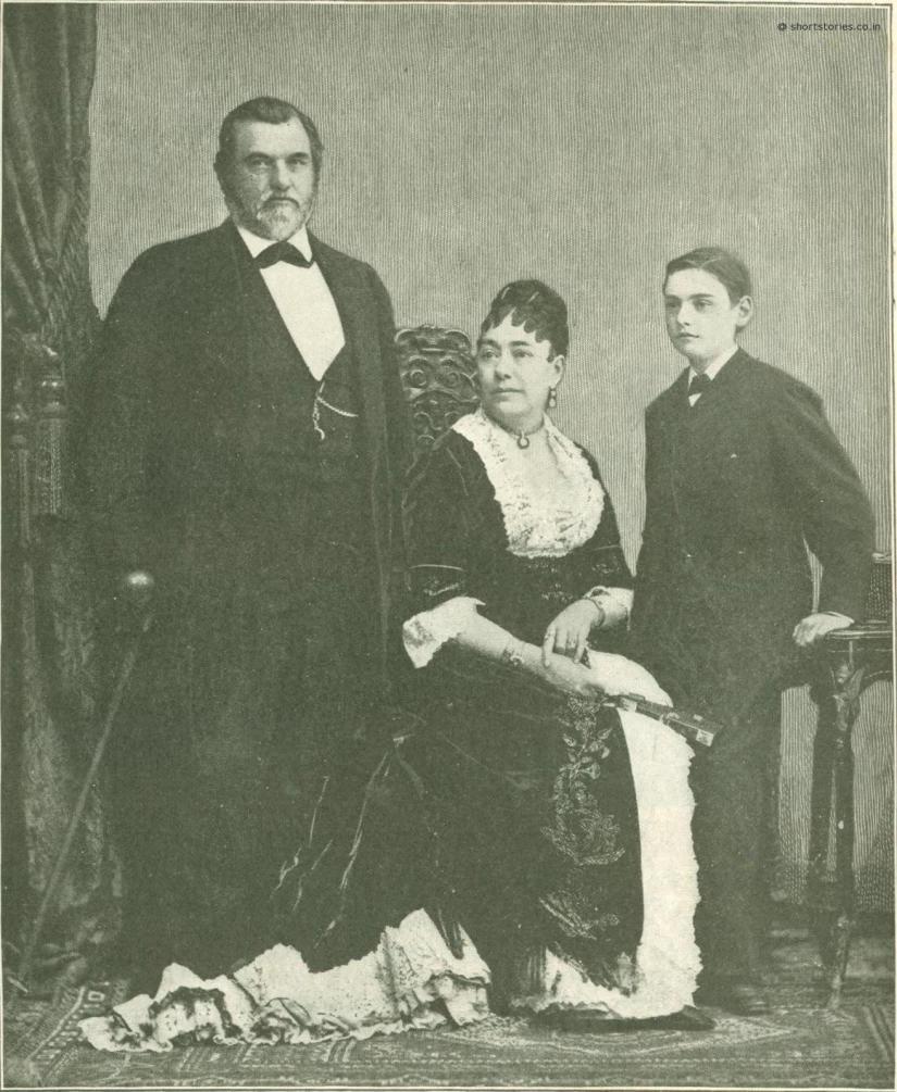 Mr. and Mrs. Leland Stanford and Leland Stanford, Jr.