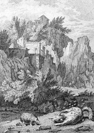 Jean de La Fontaine Fables - Book 12 - Fable 13