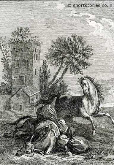 Jean de La Fontaine Fables - Book 6 - Fable 17 - shortstoriescoin
