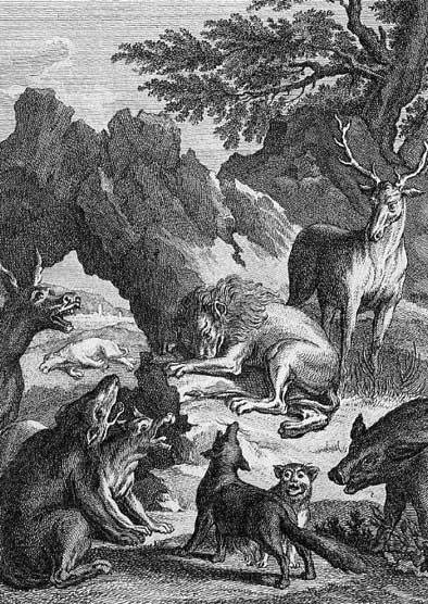 Jean de La Fontaine Fables - Book 8 - Fable 14