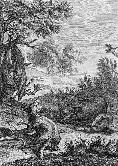 Jean de La Fontaine Fables - Book 8 - Fable 27