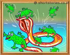 frogs-that-rode-a-snake-shortstoriescoin-image1
