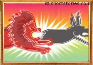 the-lion-and-the-foolish-donkey-shortstoriescoin-image2