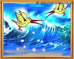 bird-pair-sea-panchatantra-tales-shortstoriescoin-image2