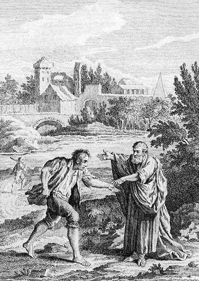 Jean de La Fontaine Fables - Book 12 - Fable 22