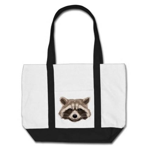 Rocket Pattern Tote Bag