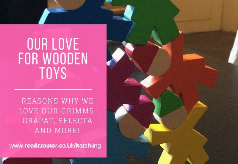 Our love for wooden toys