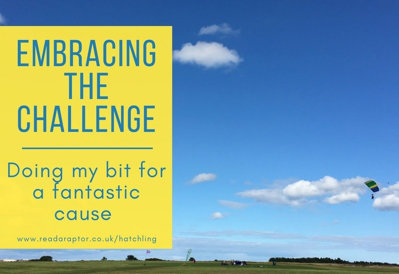 Embracing the challenge – doing my part for a fantastic cause