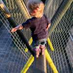 Fort climbing at Butlin's Just For Tots in Minehead