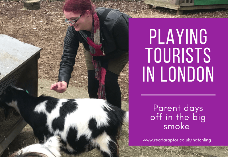 Playing tourists in London – Parent days off in the big smoke