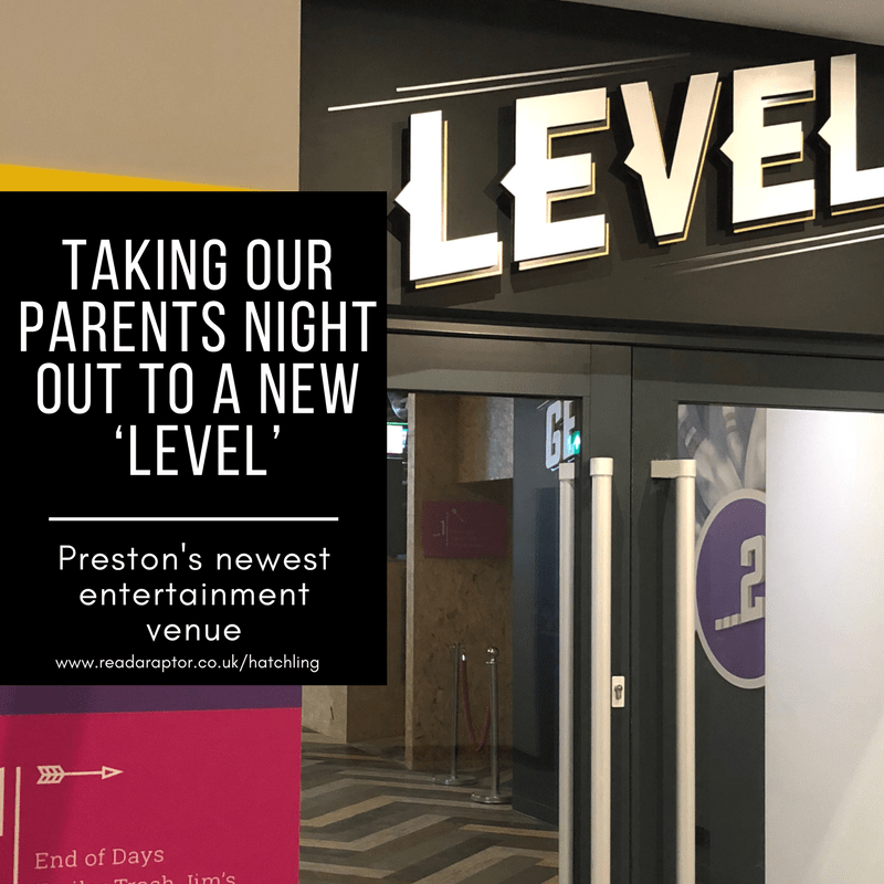 Level in Preston's door with the caption Taking our parents night out to a new level in preston's latest entertainment venue